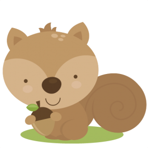 Cute Squirrel SVG cut file for scrapbooking woodland animals clipart svg files free svg cuts