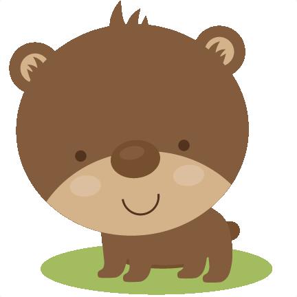 Cute Bear Svg Scrapbook File Bear Svg File Cute Bear Svg