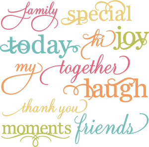 Pretty Words 2 SVG cut files for scrapbooking words svg cut files for cards free svg cutting files