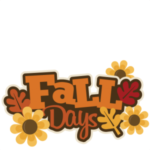 Fall Days SVG autumn svg file svg files for scrapbooking cute clipart fall svg cut files