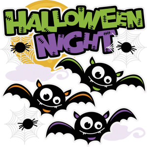 Halloween Night Title SVG cut files for scrapbooking halloween svg scrapbook title free svgs