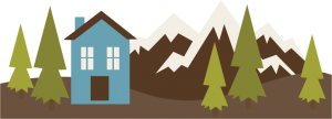 Mountain Scene SVG cut file for cutting machines free scal files fre scut files free svgs