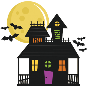 Haunted House SVG cut file haunted house svg file haunted house cut file for cutting machines