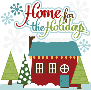 Home For The Holidays SVG cut files for scrapbooking christmas svg files christmas svg cuts