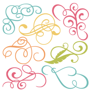 Flourishes SVG cut files flourish svg files free svgs free svg cuts for cutting machines scal files
