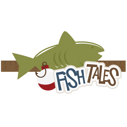 Download Fish Tales Svg Scrapbook Title Fishing Svg Files Outdoors Svg Files Fishing Scal Files Free Svgs