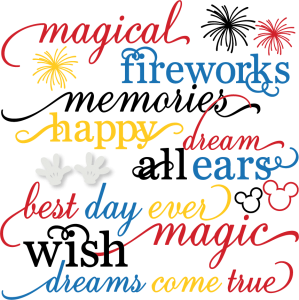 Magical Words Set  SVG cut files free svgs firework svg files cute svg cuts free svg cuts