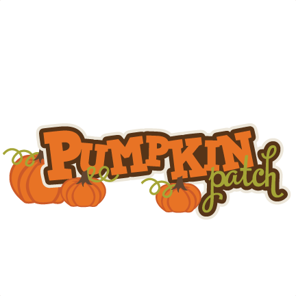 Pumpkin Patch SVG scrapbook title pumpkin svg files fall ...