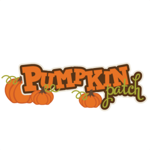 Pumpkin Patch SVG scrapbook title pumpkin svg files fall svg cuts autumn svg cut files