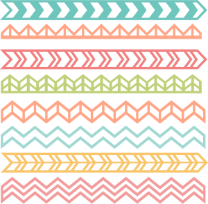 Chevron Borders SVG cut files chevron borders scal files free svg files free svg cuts