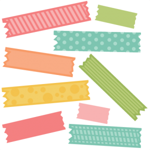 Washi Tape SVG cut file for electronic cutting machines washi tape cut file for scrapbooking