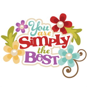 You Are Simply The Best SVG scrapbook title svg cut files free svg cuts cute svg cutting files