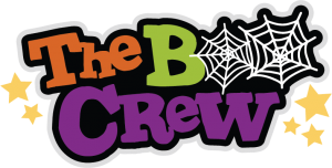 The Boo Crew SVG scrapbook title halloween svg cut file halloween svg scrapook title