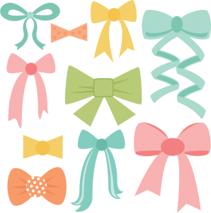 Bow Set SVG cut files bow svg files ribbon svg cuts free svgs free svg files free svg cuts