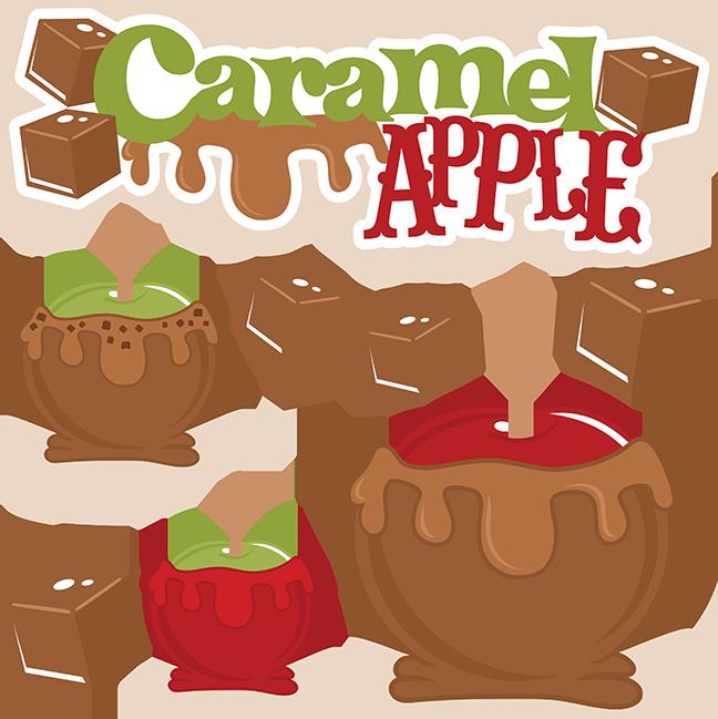 Caramel Apple SVG cut file caramel apple cutting file fall ...