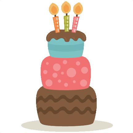 Birthday Cake SVG files birthday svg files birthday svg cuts cute