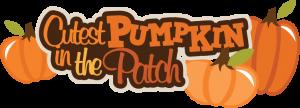 Cutest Pumpkin In The Patch SVG scrapbook title fall svg scrapbook titles free svg cuts