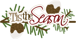 'Tis The Season SVG scrapbook title christmas svg files christmas svg scrapbook titles