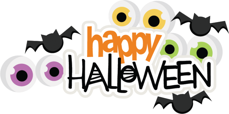 Happy Halloween SVG scrapbook title spiderweb svg cut file ...