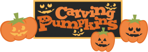 Carving Pumpkins SVG cut files carving pumpkins svg scrapbook title free svg cuts