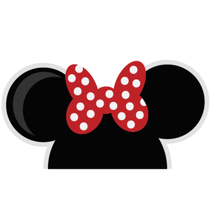 Mouse Ears Girl SVG cut files for scrapbooking mouse ears ...