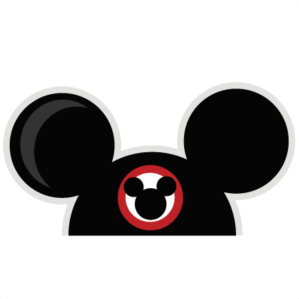 Mouse Ears SVG cut files for scrapbooking mouse ears svg ...