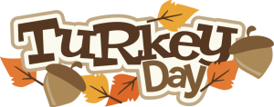 Turkey Day SVG scrapbook title turkey svg cut file thanksgiving svg cut file for scrapbooking