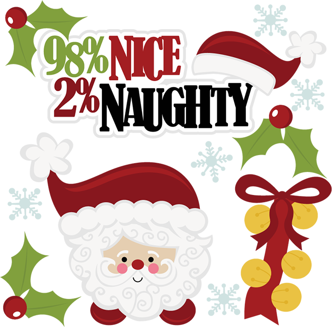 naughty xmas clip art - photo #20