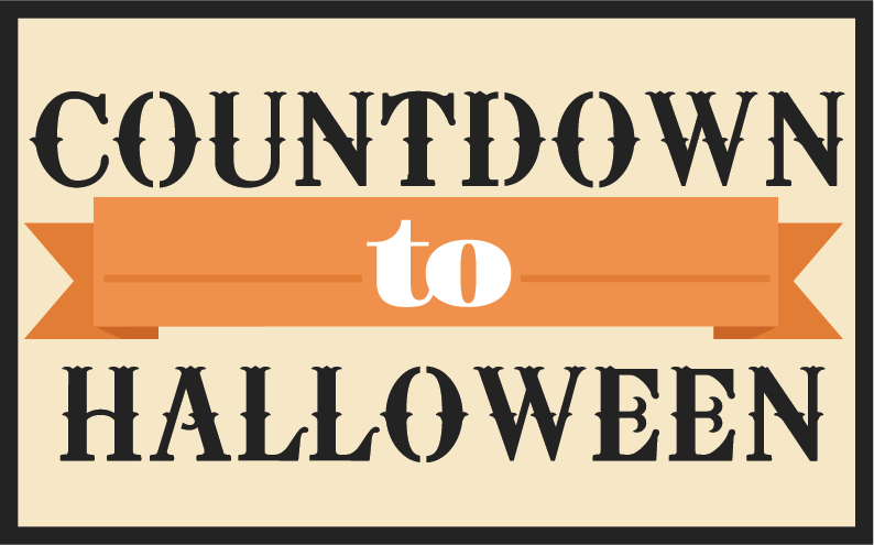 Countdown To Halloween SVG scrapbook title halloween svg cutting ...