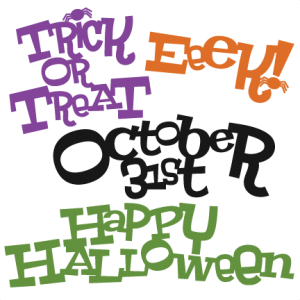 Halloween Titles SVG cut files halloween svg scrapbook title halloween svg titles free svg cuts