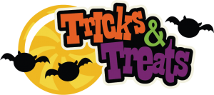 Tricks & Treats SVG scrapbook title halloween svg scrapbook title halloween svg cuts bat svg files