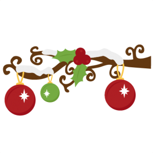 Snow Branch SVG cutting files christmas svg cuts snow svg cuttting files free svgs