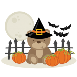 Halloween Bear SVG cutting files free svg cuts halloween svg files for cutting machines