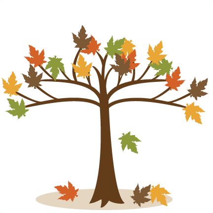 Autumn Tree Svg Files For Scrapbooking Fall Tree Svg