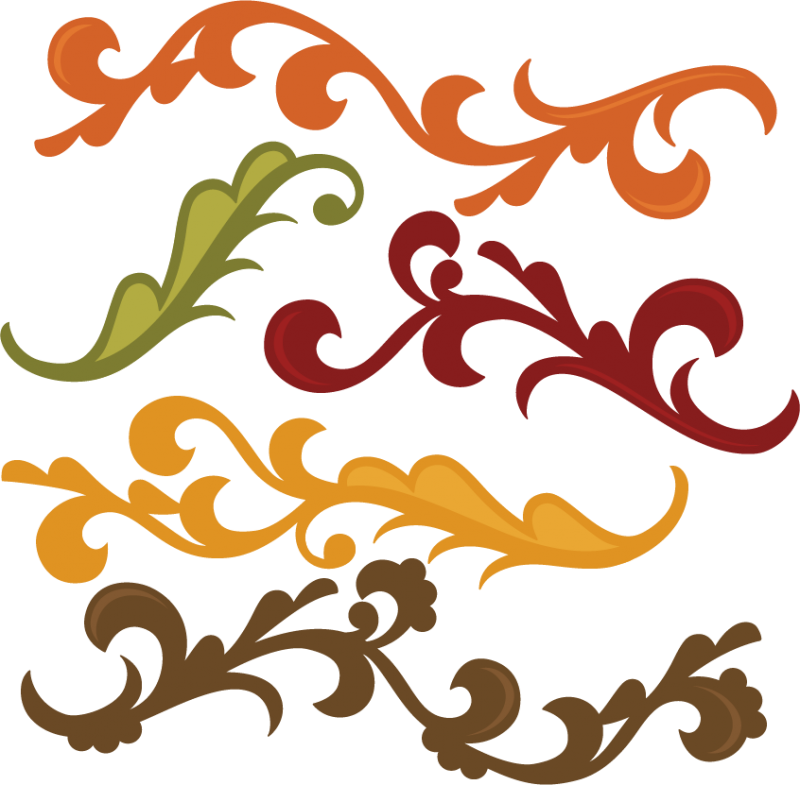 Fall Flourishes SVG autumn svg file svg files for ...