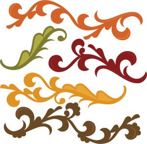 Fall Flourishes SVG autumn svg file svg files for scrapbooking cute clipart fall svg cut files