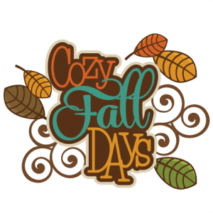 Cozy Fall Days SVG autumn svg file svg files for scrapbooking cute clipart fall svg cut files