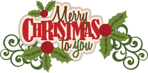 Merry Christmas To You SVG scrapbook title christmas svg cut file christmas cut files