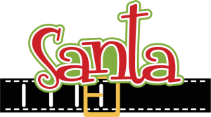 Santa Scrapbook SVG cut file santa svg file svg cuts christmas svg cutting files scal files
