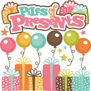 Piles Of Presents SVG cut file birthday svg files birthday svg cutting files free svg cuts