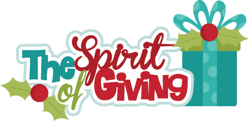 The Spirit Of Giving SVG cutting files christmas svg scrapbook ...