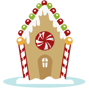 Gingerbread House SVG cutting files for cutting machines christmas svg cuts free svg files