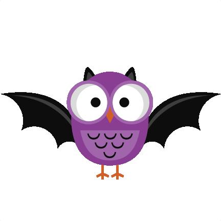 Purple Halloween Owl SVG cutting file halloween owl svg cut ...