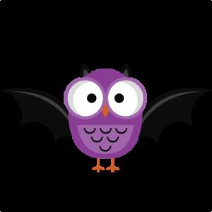 Purple Halloween Owl SVG cutting file halloween owl svg cut halloween svg files free svgs