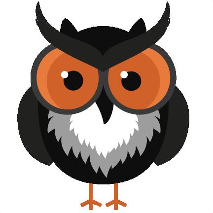 Black Halloween Owl SVG cutting files halloween svg cuts owl svg ...