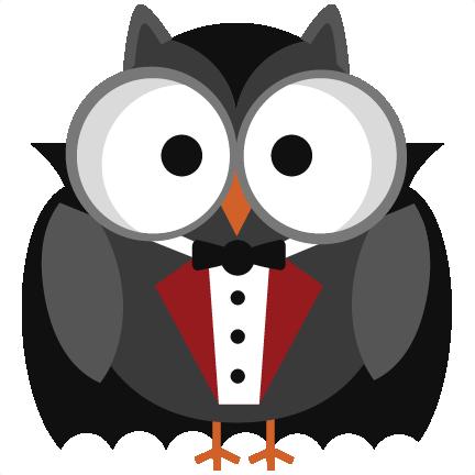 Halloween Vampire Owl SVG cutting files halloween svg cuts free ...