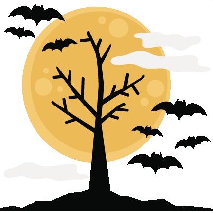halloween tree svg cutting files halloween svg cuts free svg files