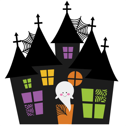 Haunted house svg cutting file halloween svg cuts free svg Haunted house drawing ideas