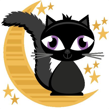 halloween cat on moon svg cutting files halloween svg cuts skate clipart free skate clipart png