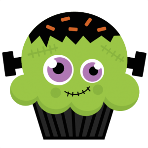 Frankenstein Cupcake SVG cutting file halloween svg cut files halloween svg cuts free svgs